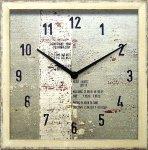 《時計 壁掛け》Surf Clock Square 4(サーフクロック スクエア4)