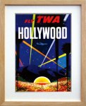 《ポスターフレーム》Air Line Trans World Air Lines Hollywood(エアライン エアライン トランス・ワールド航空 ハリウッド)(ゆうパケット)