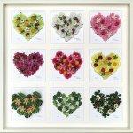 《フラワーフレーム》Heart Series 9 Heart(ハート シリーズ ハート9)