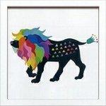 《アートフレーム》Kayo Horaguchi Lion(ホラグチ カヨ ライオン)(ゆうパケット)
