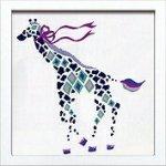 《アートフレーム》Kayo Horaguchi Giraffe(ホラグチ カヨ ジラフ)(ゆうパケット)