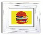 《アートフレーム》Koji Toyada  Hamburger(豊田弘治 ハンバーガー)