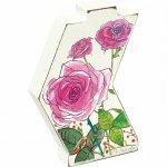 【花瓶】ベース スタイル アート「フラワー(バラ)」