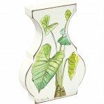 【花瓶】ベース スタイル アート「ボタニカル(クワズイモ)」