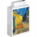 【花瓶】ミュージアムアート フラワーベース(Mサイズ・タテ)「ゴッホ(夜のカフェテラス)」