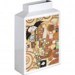 【花瓶】ミュージアムアート フラワーベース(Mサイズ・タテ)「クリムト(抱擁)」