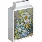 【花瓶】ミュージアムアート フラワーベース(Lサイズ・タテ)「ルノワール(大きなかびんの花)」