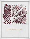 《アートフレーム》3Dマップアート ロンドン (3D MAP ART LONDON)