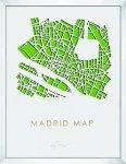 《アートフレーム》3Dマップアート マドリード (3D MAP ART MADRID)