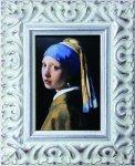 《名画》 フェルメール 真珠の耳飾りの少女 (Famous Artist Mini Vermeer Girl with a Pearl Earring)