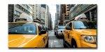 《キャンバスアート》アーバンスタイルL ニューヨーク イエローキャブ(URBAN STYLE L CANVAS ART New York/Yellow Cab)