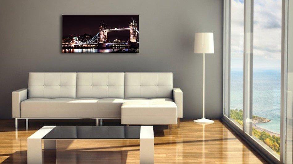 《キャンバスアート》アーバンスタイルM 東京 レインボーブリッジ(URBAN STYLE M CANVAS ART London Tower Bridge)