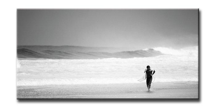 《キャンバスアート》アーバンスタイルM サーファー(URBAN STYLE M CANVAS ART Surfer-Mono)