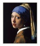 《名画キャンバスアート》ヨハネス・フェルメール 真珠の耳飾りの少女 (Johannes Vermeer)