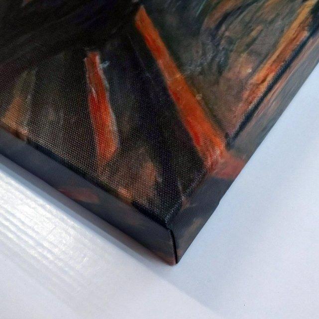 《名画キャンバスアート》エドヴァルド・ムンク 叫び (Edvard Munch)