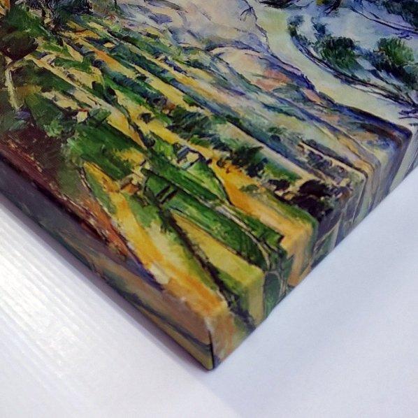 《名画キャンバスアート》ポール・セザンヌ サント・ヴィクトワール山 (Paul Cezanne)