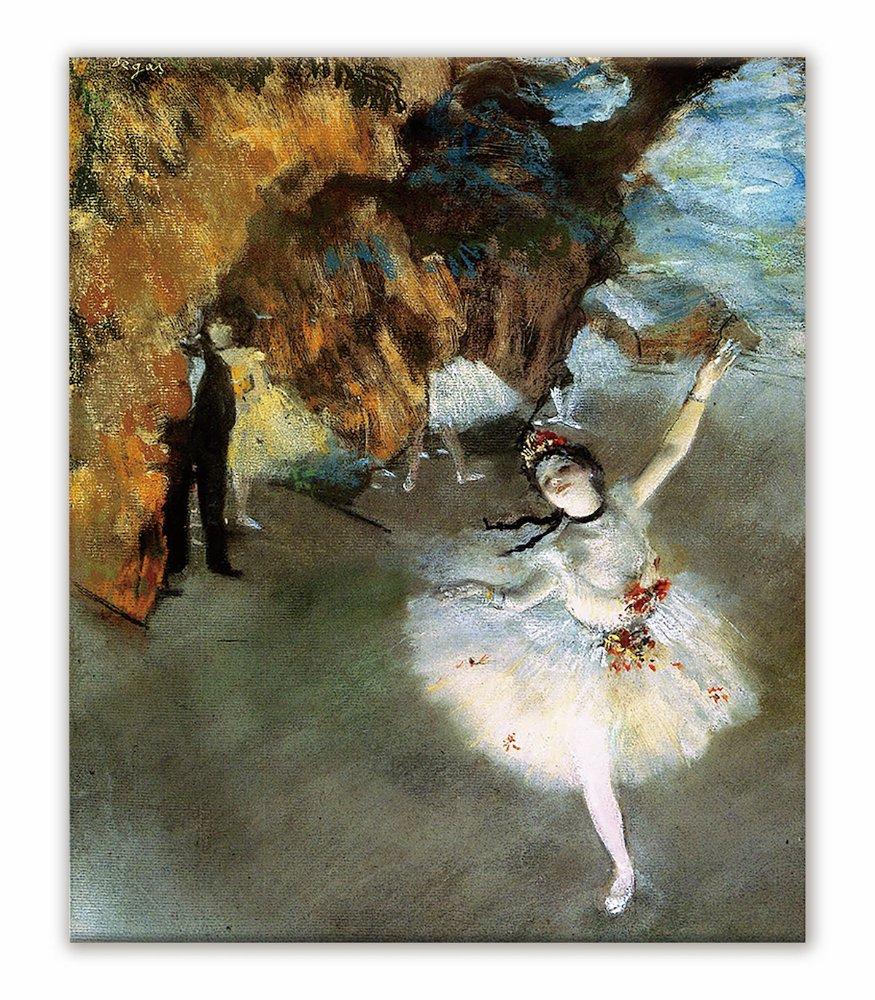 《名画キャンバスアート》エドガー・ドガ 舞台の踊り子 (Edgar Degas)