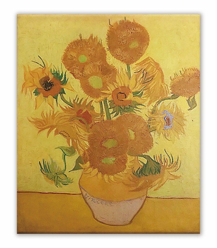 《名画キャンバスアート》フィンセント・ファン・ゴッホ ひまわり (Vincent van Gogh)