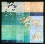 《アートフレーム》ウィンチェスター フローラル・コラージュ5(Winchester Floral Collage V)