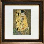 《名画アートフレーム》クリムト 接吻(Klimt )(ゆうパケット)