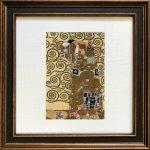《名画アートフレーム》クリムト 抱擁(Klimt )(ゆうパケット)