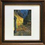 《名画アートフレーム》ゴッホ 夜のカフェテラス(Gogh )(ゆうパケット)