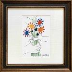 《名画アートフレーム》ピカソ 花束(Picasso )(ゆうパケット)