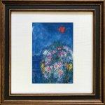 《名画アートフレーム》シャガール 赤い鳥(Chagall )(ゆうパケット)