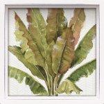 絵画 ロハス ミニアートフレーム リサ オーディット「ミックス グリーン3」/壁掛け インテリア 癒やし