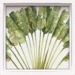 絵画 ロハス ミニアートフレーム リサ オーディット「ミックス グリーン4」/かわいい 壁飾り ギフト 玄関