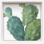 絵画 ロハス ミニアートフレーム リサ オーディット「ミックス グリーン6」/リビング 玄関 トイレ ギフト