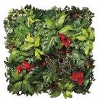 【光触媒観葉植物】壁面緑化ミックス〔壁掛けタイプ〕/光触媒 観葉植物 ウンベラータ フェイクグリーン 花 胡蝶蘭 開店祝い 開業祝い 誕生祝い 造花 アートフレーム おしゃれ