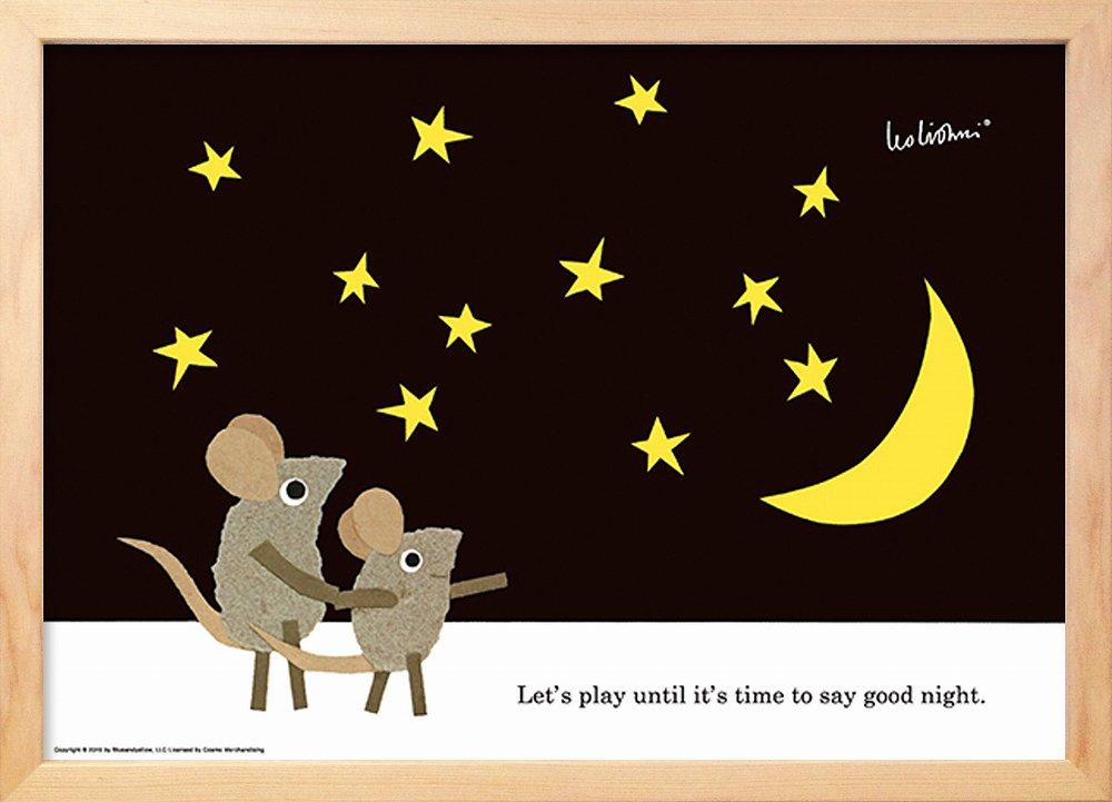 《アートフレーム》レオ・レオニ あそぼうよ グッドナイト (Leo Lionni Let's Play Good Night)