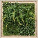 グリーンフレーム 芝生 3 インテリア 壁掛け 額入り リビング 玄関 プレゼント ギフト 光触媒 消臭 おしゃれ 飾る フェイクグリーン 3Lサイズ