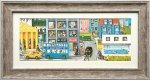 絵画 アンネゲルト フックスフーバー 7 インテリア 壁掛け 壁飾り 額入り アート リビング 玄関 トイレ プレゼント ギフト おしゃれ 飾る ポスター 風景 Lサイズ