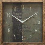 時計 サーフ クロック スクエア 3 インテリア リビング 玄関 トイレ 部屋 プレゼント モダン おしゃれ 壁掛け 時計 飾る Mサイズ