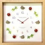 時計 ディスプレイ クロック ハリネズミ 3 掛け時計 ウォールクロック インテリア 壁掛け ギフト プレゼント 新築祝い おしゃれ 飾る かわいい 子ども部屋 Mサイズ