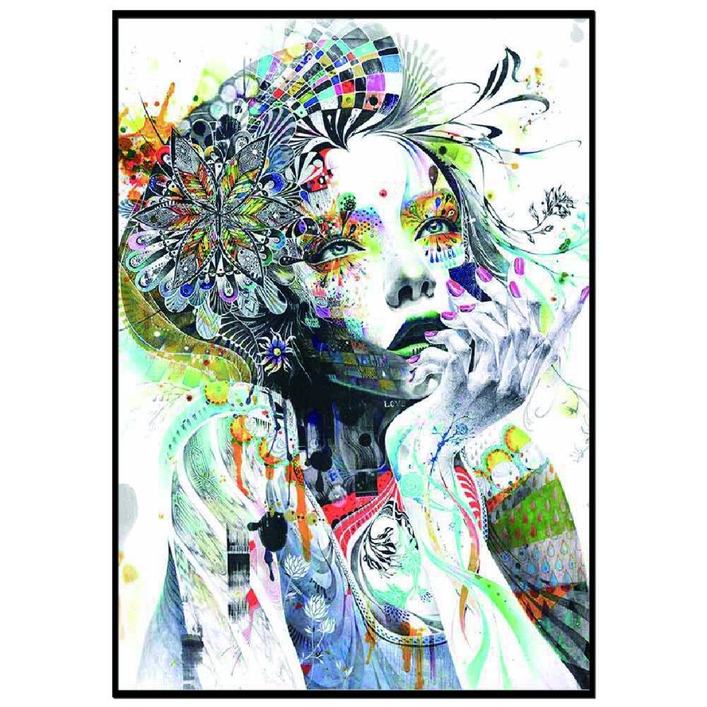 《ポスターフレーム》ミンジェ アートポスター サーキュレーション フレーム付き