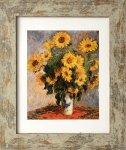 《名画アートフレーム》ひまわり クロード・モネ(Claude Monet)