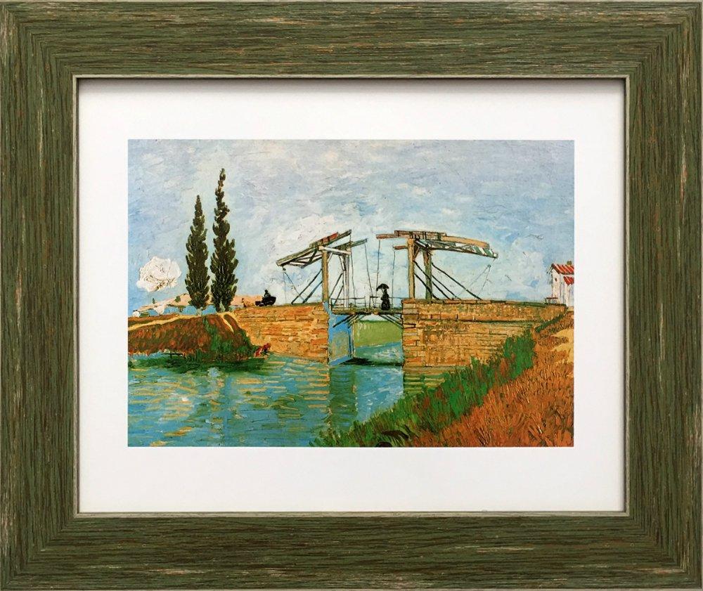 《名画アートフレーム》アルルの跳ね橋 グスタフ・クリムト(Gustav Klimt)