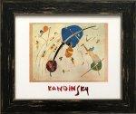 《名画アートフレーム》青に向かって ワシリー・カンディンスキー(Wassily Kandinsky)