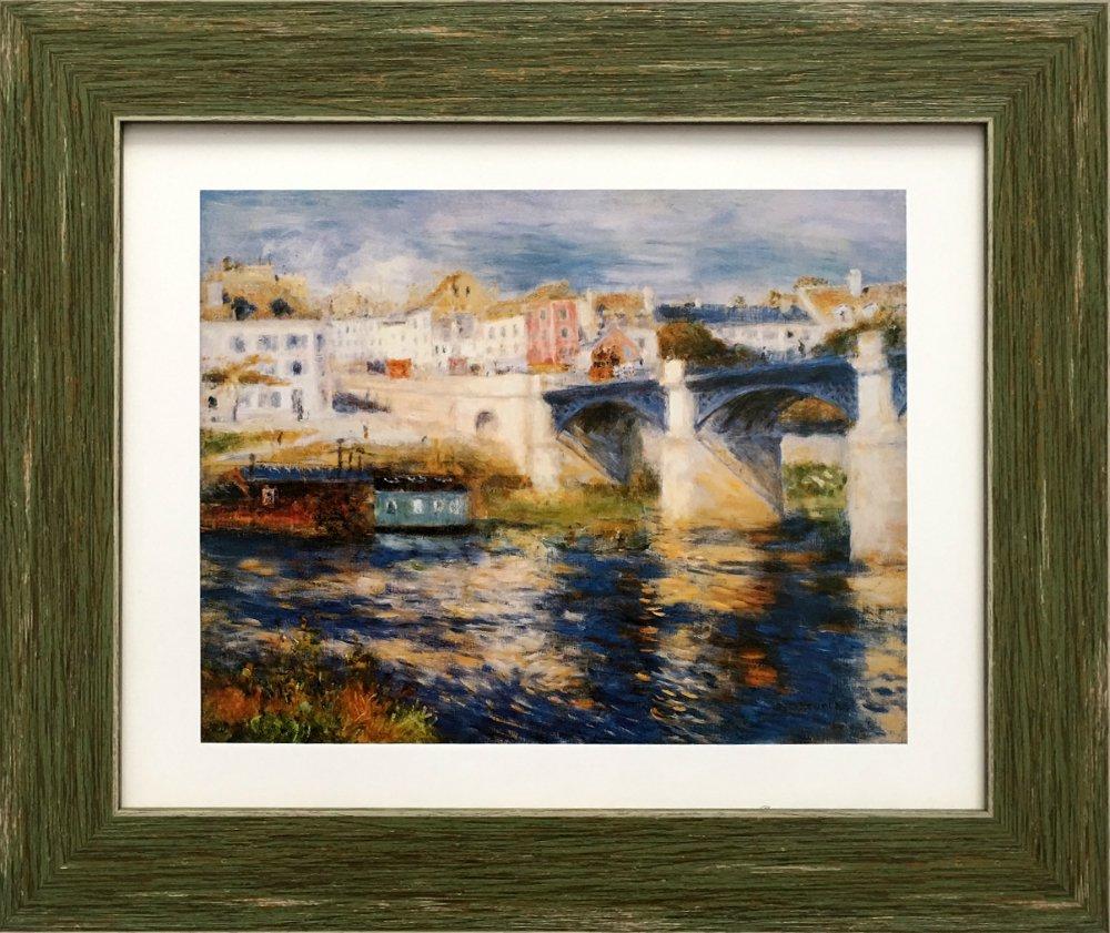 《名画アートフレーム》シャトゥーの橋 ラウル・デュフィ(Raoul Dufy)
