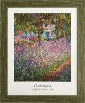 《名画アートフレーム》ジヴェルニーのモネの庭 クロード・モネ(Claude Monet)