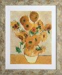 《名画アートフレーム》ひまわり フィンセント・ファン・ゴッホ(Vincent van Gogh)