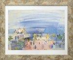 《名画アートフレーム》ニースのカジノ ラウル・デュフィ(Raoul Dufy)