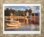 《名画アートフレーム》アルジャントゥイユの橋 クロード・モネ(Claude Monet)