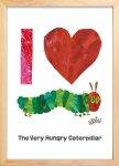 《絵画》アイラブキャタピラー(I Love Caterpillar) エリック・カール(Eric Carle)