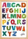 《絵画》アルファベット(Alphabets) エリック・カール(Eric Carle)