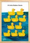《絵画》10匹のおもちゃのあひるの物語(10 Little Rubber Ducks) エリック・カール(Eric Carle)