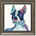 絵画 エイヴリー ティルモン「ユリシーズ ウォーターカラー」 インテリア 壁掛け 飾る 犬 ドッグ プレゼント 額入り 絵 トイレ かわいい 動物 壁飾り 癒やし アート フレーム お祝い